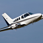 Cessna-402B airplane