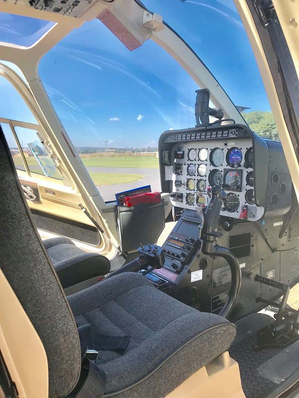 1992 Bell 206b 3 Jet Ranger Turbine Helicopter Sales And