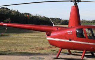 2002 Robinson R44 Raven II - RED