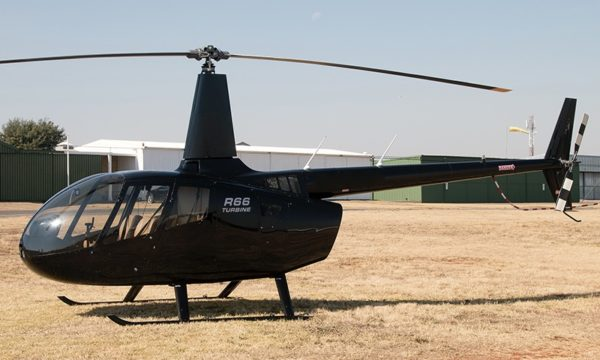 REF 458 - 2012 Black Robinson R66