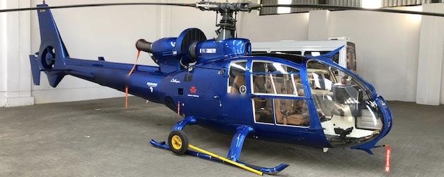 1977 Blue Gazelle SA341F2