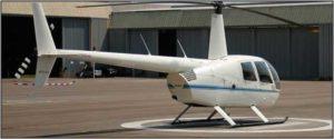 Robinson R44 Raven II 2004 - White/Blue Stripe