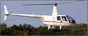 Robinson R44 Raven II 2005 - White/Red Stripe