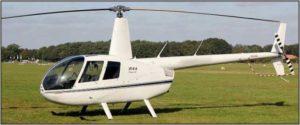 Robinson R44 Raven II 2008 - White/Black stripe