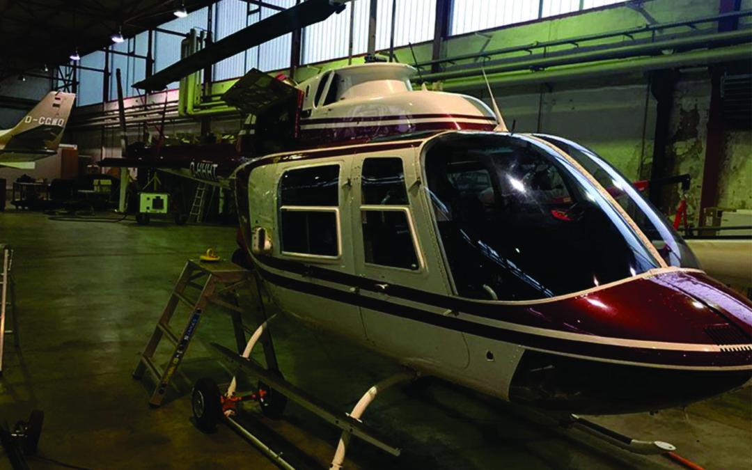 Bell Jetranger Arrival 12/05/2015